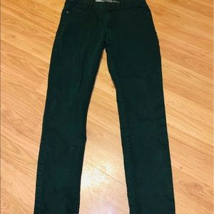 Old Navy size 6 Green jeans skinny